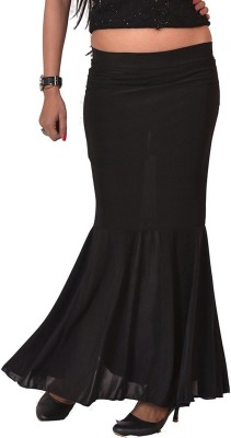 Carrol Solid Girl's Regular Black Skirt