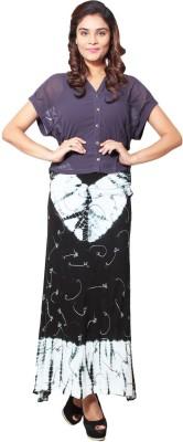 Niomi Self Design Women's A-line Multicolor Skirt