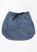 Gini & Jony Solid Girls Regular Blue Skirt best price on Flipkart @ Rs. 683
