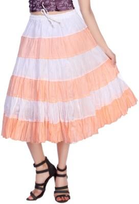 Carrel Solid Women's Broomstick Black Skirt