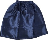 Funky Baby Solid Girls A-line Blue Skirt