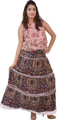 carrol Printed Women's Wrap Around Multicolor Skirt