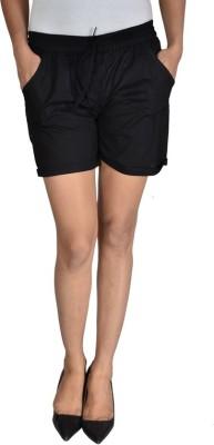 Panno Printed Women's Regular Black Skirt