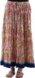 Aarr Floral Print Women's A-line Multico...