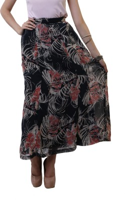 Belle Fille Graphic Print Women's A-line Multicolor Skirt