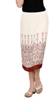 Rvestir Printed Women's Pleated Multicolor Skirt