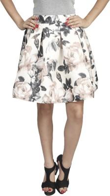 Naitik Printed Women's Regular Beige Skirt
