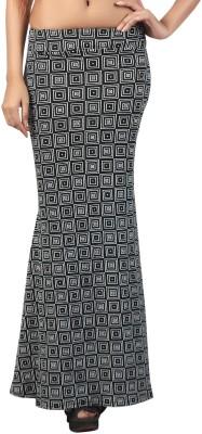 Famglam Printed Women's Regular Black Skirt