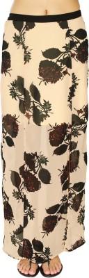 20Dresses Floral Print Women's Straight Pink, Black Skirt