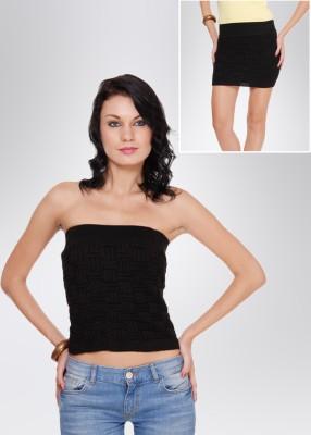 N-Gal Women's Black Skirt