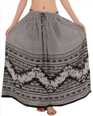 Skirts & Scarves Printed Women's Straight Multicolor Skirt