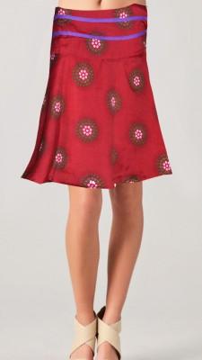 Vivaa Printed Women's Wrap Around Multicolor Skirt