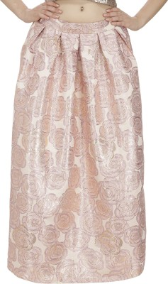 FASHMODE Solid Women's A-line Pink Skirt
