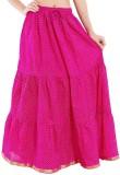 Kanak Polka Print Women's Regular Pink S...