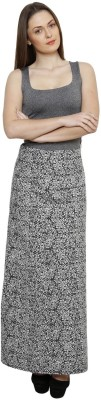 LEBE Printed Women's A-line Multicolor Skirt