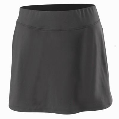 Artengo Solid Women's Regular Black Skirt