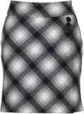 Fabulloso Checkered Women's Pencil Black...