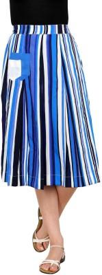 Rvestir Striped Women's A-line Multicolor Skirt