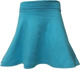 Kothari Solid Girls Regular Blue Skirt