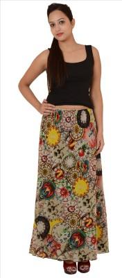 Skirts & Scarves Floral Print Women's Pencil Multicolor Skirt