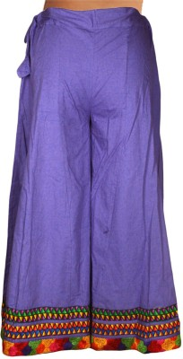 Shopatplaces Solid Women's Regular Purple Skirt