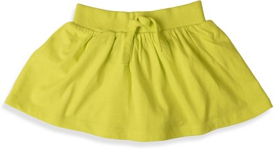 Mothercare Solid Girl's Tube Green Skirt