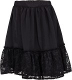 Buttercups Self Design Girls A-line Blac...