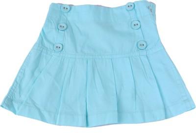 Childkraft Solid Baby Girl's Regular Blue Skirt