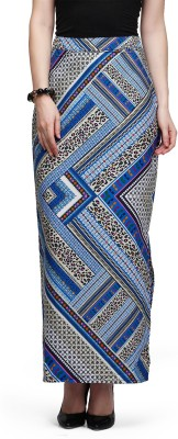 Eavan Self Design Women's Pencil Multicolor Skirt at flipkart