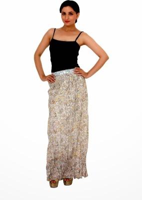 Damsel Printed Women's A-line Multicolor Skirt