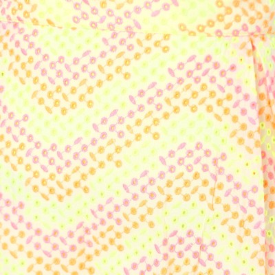 Glam & Luxe Printed Women's A-line Yellow Skirt