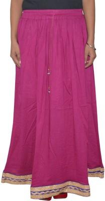Shreeka Solid Women's Regular Pink, Blue Skirt