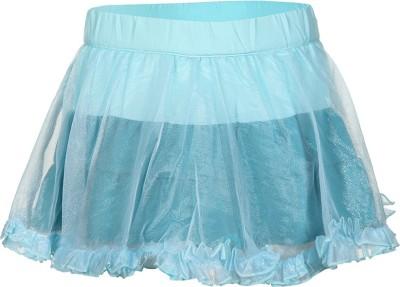 Tickles By Inmark Solid Girl's Regular Green Skirt