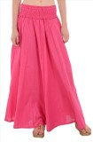 Skirts & Scarves Solid Women's A-line Pi...
