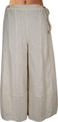 Shopatplaces Solid Women's Regular Beige Skirt