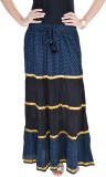 FabStyle Printed Women's Broomstick Blue...