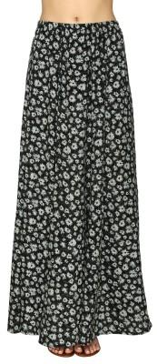20Dresses Printed Women's A-line Black Skirt
