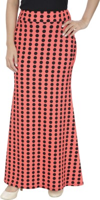 Franclo Solid Women,s Gathered Pink, Black Skirt
