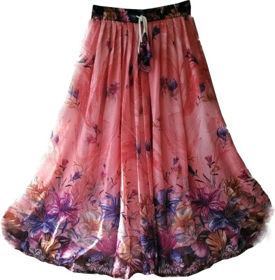 Fashion Ritmo Printed Women's Regular Multicolor Skirt
