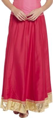 Globus Solid Women's Regular Red Skirt