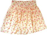 Sunbright Solid Girls Gathered Beige, Re...