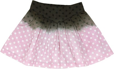 ShopperTree Printed Baby Girl's A-line Multicolor Skirt