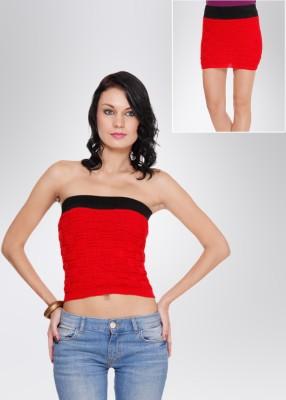 N-Gal Women's Red Skirt