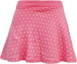 Kothari Printed Girls Regular Pink Skirt
