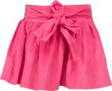 Buttercups Solid Girls A-line Pink Skirt