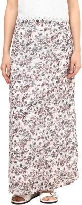 Femella Printed Women's Regular Multicolor Skirt