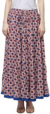 Akkriti by Pantaloons Printed Women's Layered Multicolor Skirt at flipkart
