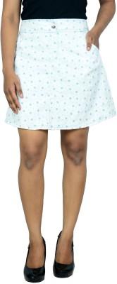 Shopaholic Fashion Solid Women's Regular White Skirt