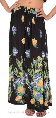 Skirts & Scarves Printed Women's Regular Multicolor Skirt