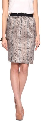 Akkriti by Pantaloons Printed Women's Pencil Multicolor Skirt at flipkart